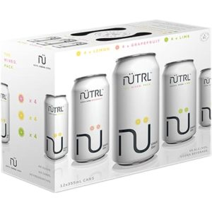 NUTRL VODKA SODA MIXED 12 CANS