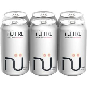 NUTRL VODKA SODA GRAPEFRUIT 6 CANS