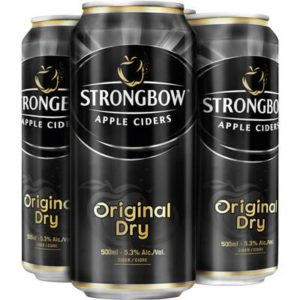 STRONGBOW – ORIGINAL DRY TALL 4 CANS