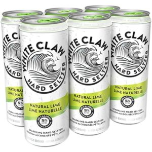WHITE CLAW – LIME 6 CANS