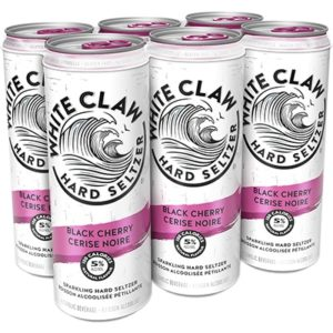 WHITE CLAW – BLACK CHERRY 6 CANS