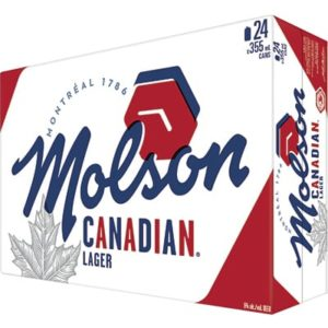 CANADIAN 24 CANS