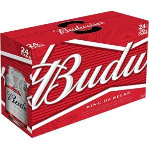 BUDWEISER 24 CANS