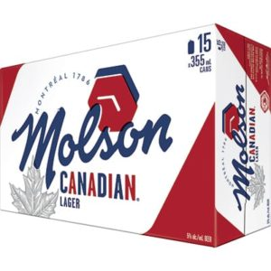 CANADIAN 15 CANS