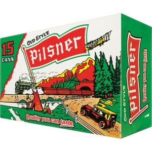PILSNER OLD STYLE 15 CANS