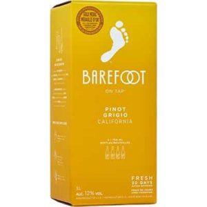 BAREFOOT PINOT GRIGIO 3L