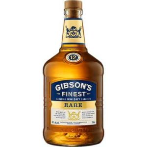 GIBSONS – FINEST RARE 12 YEAR OLD 750ML