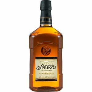 ALBERTA SPRINGS – 10 YEAR OLD WHISKY  1750ML