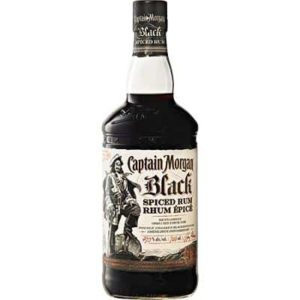 CAPTAIN MORGAN – BLACK SPICED RUM 750ML
